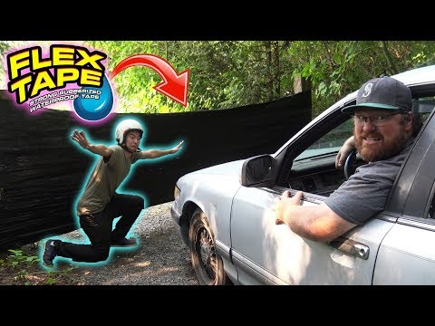 Can FLEX TAPE Stop a CAR?