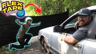 Can FLEX TAPE Stop a CAR?