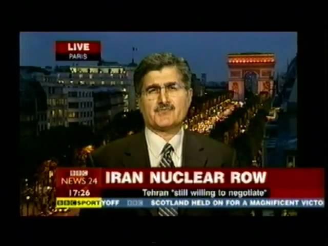 Ali Safavi BBC NEWS