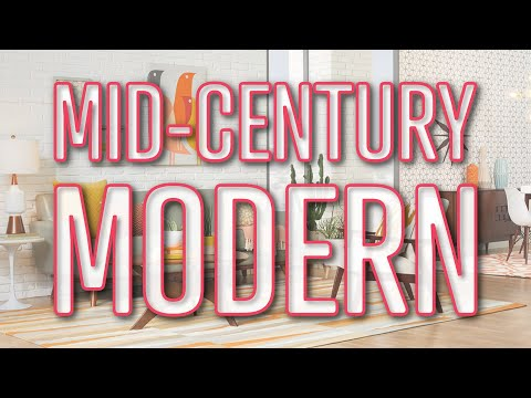 How To Decorate Mid Century Modern