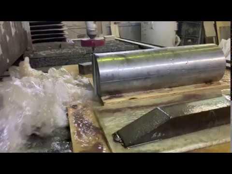 Гидроабразивная резка спецстали