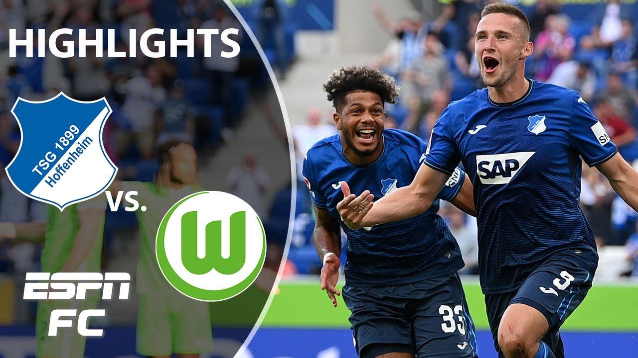 Download Hoffenheim hands Wolfsburg first loss of season | Bundesliga Highlights | ESPN FC