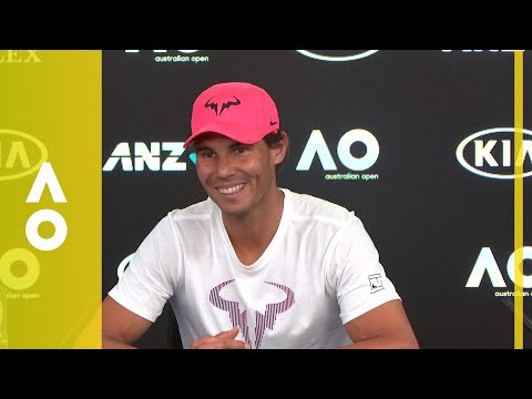 Rafael Nadal - Pre-Tournament Press Conference | Australian Open 2018