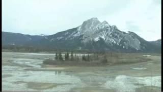 Voyage en train dans les Rocheuses - Alberta, Canada