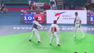 India vs China women -53 kg (R32) WTF World Taekwondo Championship 2017 Muju