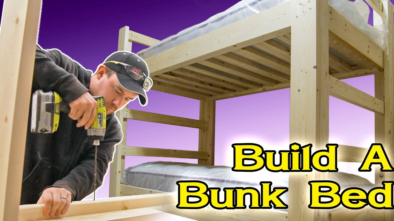 Single Bunk Bed Plans