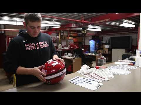 Cornell Football | Military Appreciation Helmet Stickers