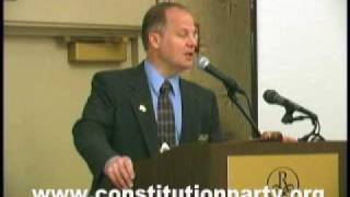 Constitution Party Speaker - Dan Itse - Part Two