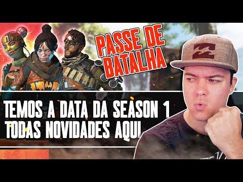 APEX LEGENDS | TODOS ITENS DO PASSE DE BATALHA + DATA CONFIRMADA!