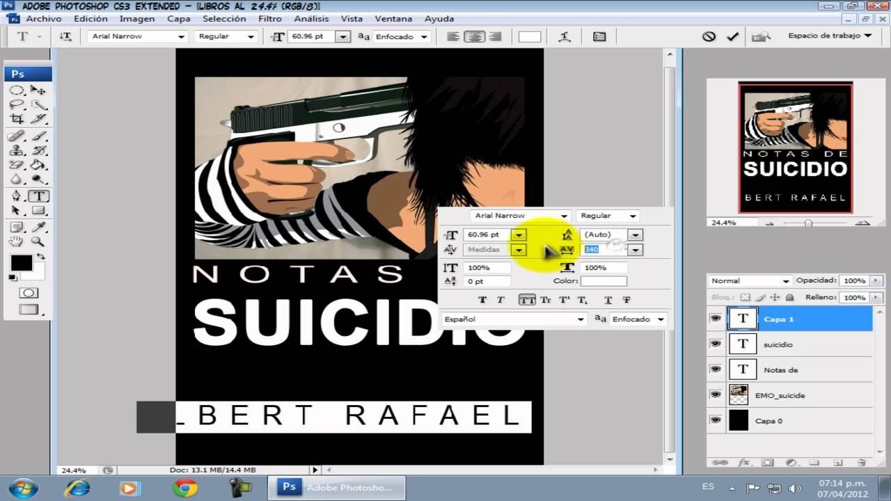 Brutorial como hacer portada para libros youtube - Como hacer un libro hueco ...