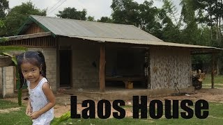 A small house in rural Laos (Aunt