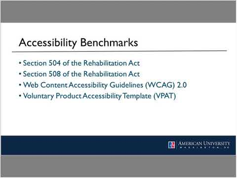 NASIG Webinar: How Accessible Is Our Collection? Performing an E-Resources Accessibility Review