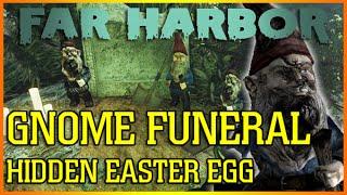 GNOME FUNERAL | Hidden Easter Egg | Fallout 4 Far Harbor DLC
