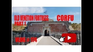 Old Venetian Fortress Corfu Greece