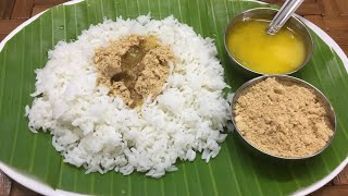 Parupu podi recipe for rice