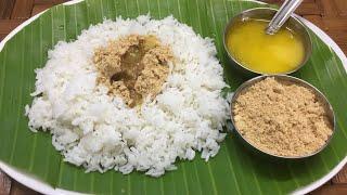 Parupu podi recipe for rice