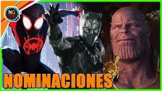 Oscars: Las Nominaciones 2019 - Black Panther, Avengers Infinity War, Spider-Man Un Nuevo Universo