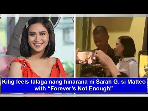 Galing! Sarah G sweetly serenades Matteo Guidicelli with 'Forever's Not Enough'