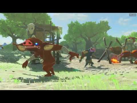 Zelda Breath Of The Wild : PC Gameplay