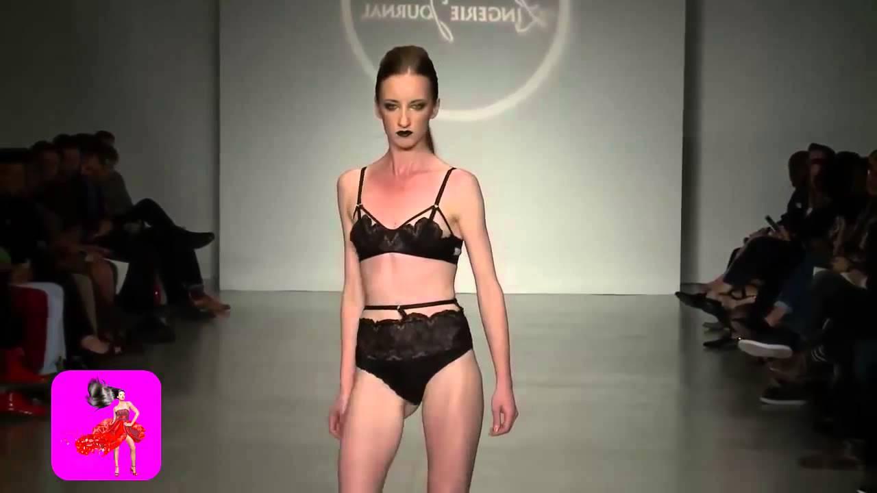 Youtube hot runway lingerie fashion