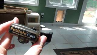 Indoor Wireless Fence System For Cats