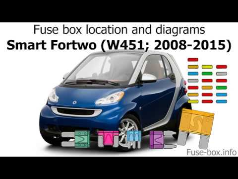 Fuse box location and diagrams: Smart Fortwo (W451; 2008 ...