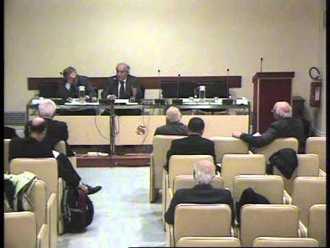 Convegno ex Parlamentari - Presidente Bianco