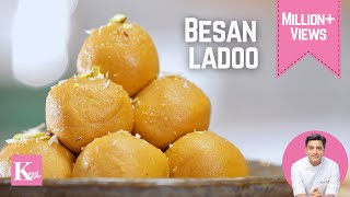 Besan Ladoo | Kunal Kapur Recipes | Ganesh Chaturthi Festive Recipes