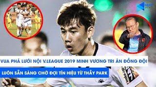 Minh Vương tri ân HAGL khi trở thành Vua phá lưới nội V.League 2019! | NEXT SPORTS