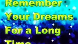 8 Hours Deep Sleep Hypnosis for Good Dreams You Can Remember