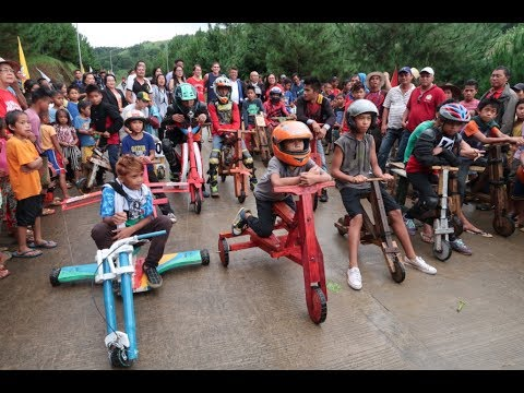 The Philippines Has A Wooden Scooter Race (Part 2)