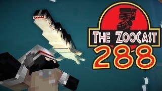 Minecraft Jurassic World (Jurassic Park) ZooCast - #288 A WORKING ME SYSTEM!
