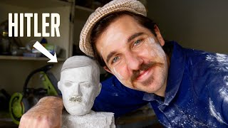Meet The Guy Who Makes Racist Statues - #shorts