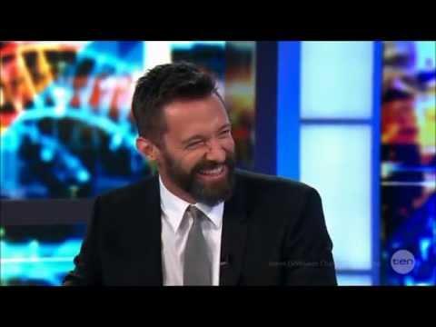 Hugh Jackman - X-Men Premiere LIVE Australia 'Full Bumsy' Interview 16-5-2014