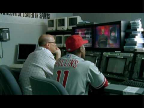 ESPN SportsCenter Commercial with Jimmy Rollins