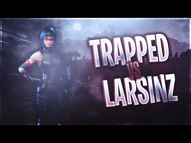 Trapped vs Larsinz - Top Console Builders 1v1 (Fortnite Battle Royale)