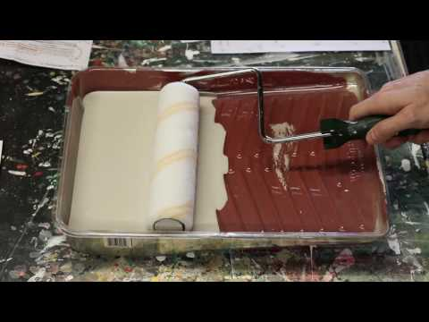 How to use a Paint Roller: Loading the Cover
