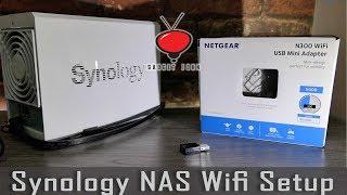 Synology NAS WiFi Setup