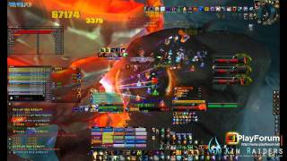 KIN Raiders Vs Madness of Death Wing World First Kill (25man Heroic)