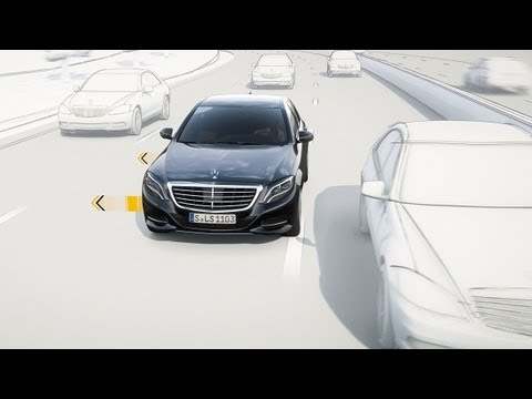 Active lane keeping assist mercedes benz original youtube for Mercedes benz assist