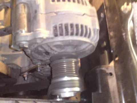 Einbau Der 2 Lichtmaschine