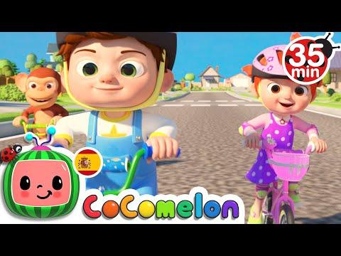 CoComelon en Español   La bicicleta   Compilación de Canciones Infantiles