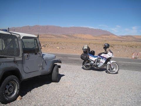 [Slow TV] Motorcycle Ride - Morocco - Bouarfa to Figuig