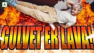 Gulvet er lava!!! FLIPPKLIPP-CHALLENGE