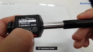 Solid NDT Lpad H110 펜타입 휴대용 경도…