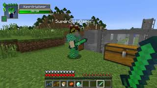 PopularMMOs Minecraft ~ CREEPER VILLAGES! MORE VILLAGERS, GROW CREEPERS, & STRUCTURES ~ Mod Showcase