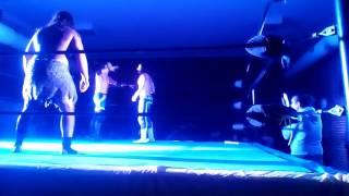 Wrestling Go 8 Bit Battle Vlog