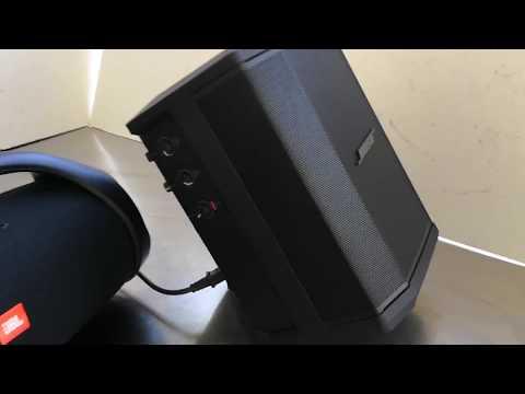 Bose S1 Pro v JBL Boombox Bass test