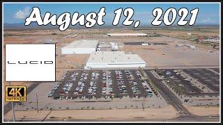 Lucid Motors Factory Construction Site August 12th, 2021