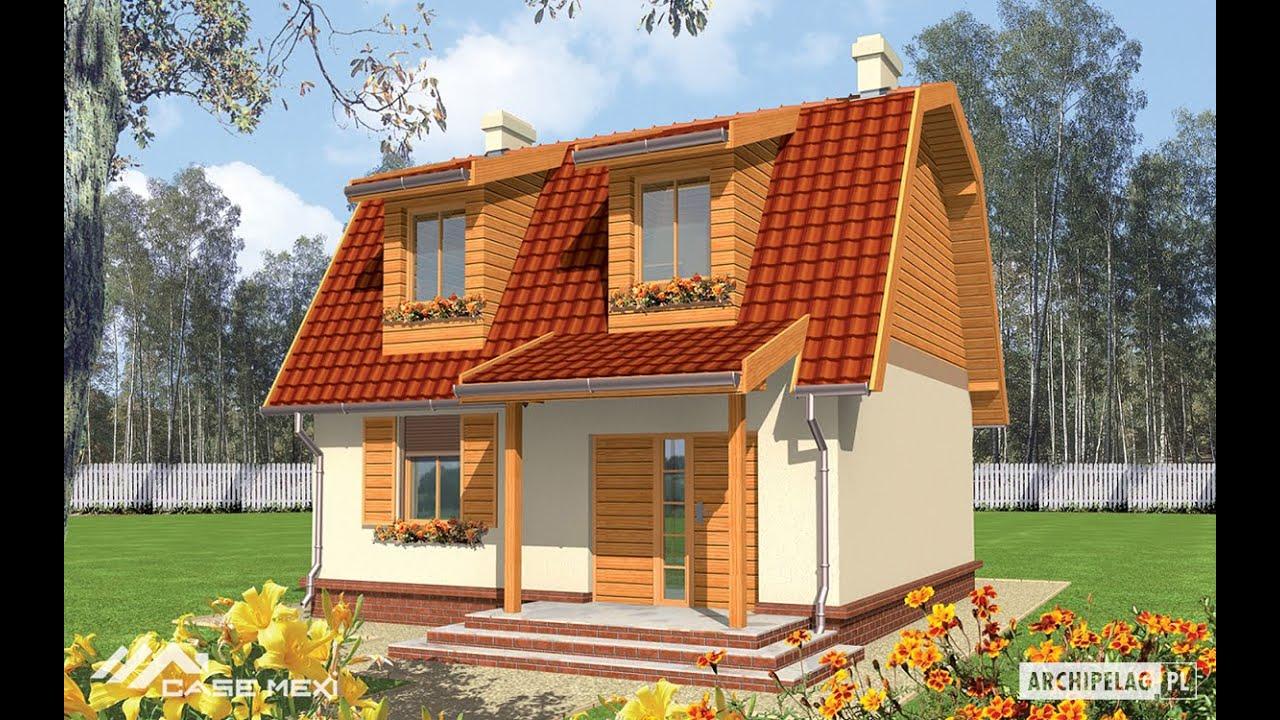 Prezentare casa cu mansarda wera pe structura metalica for Youtube case cu mansarda